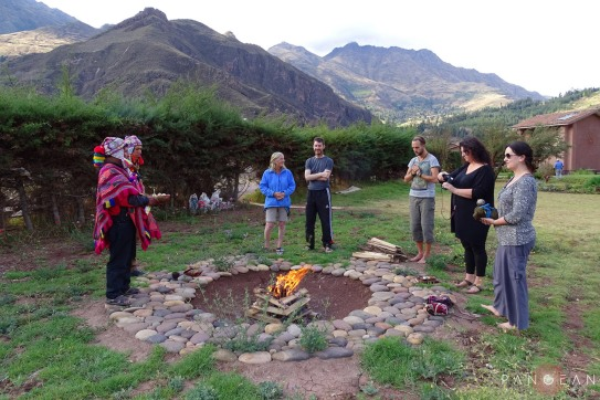 Despacho Ceremony in the Sacred Valley, Pisac
